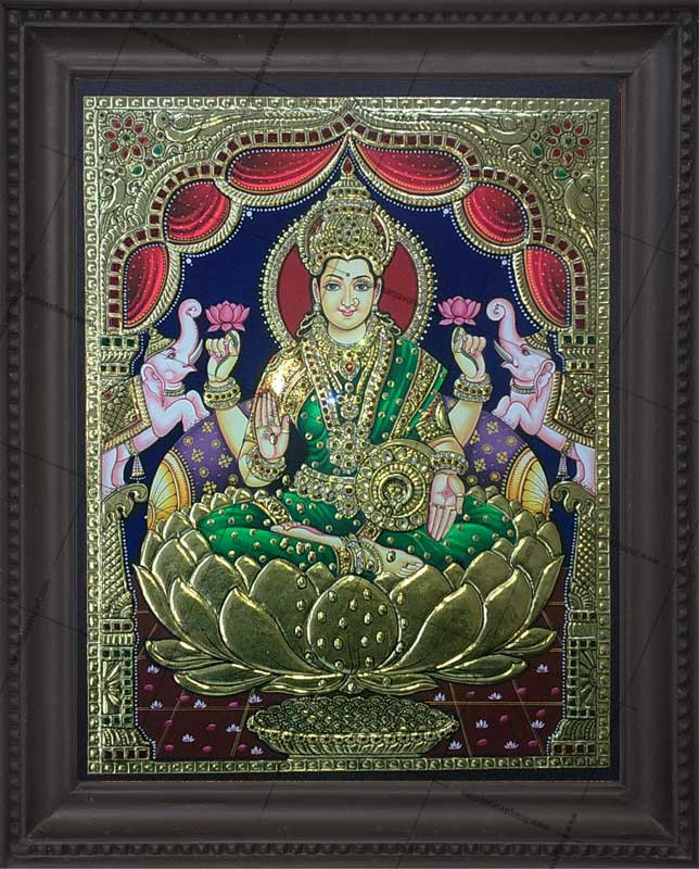 Tanjore paintings classical south indian painting art for Online art gallery paintings